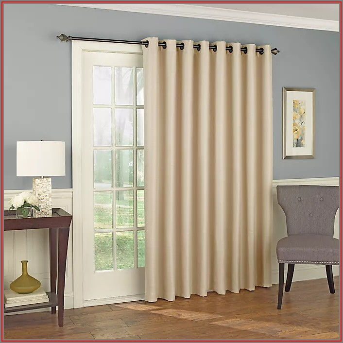 Room Darkening Patio Door Curtains