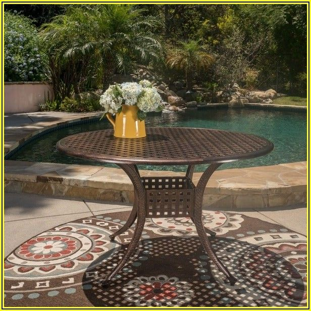 Round Patio Table Only
