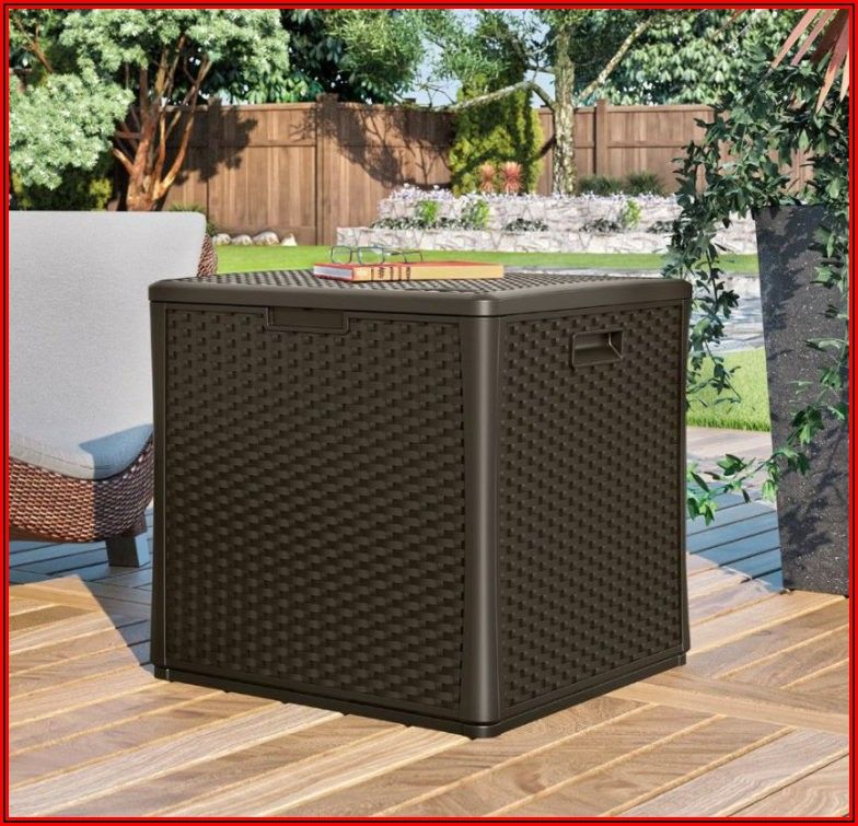 Rubbermaid Patio Storage Cube