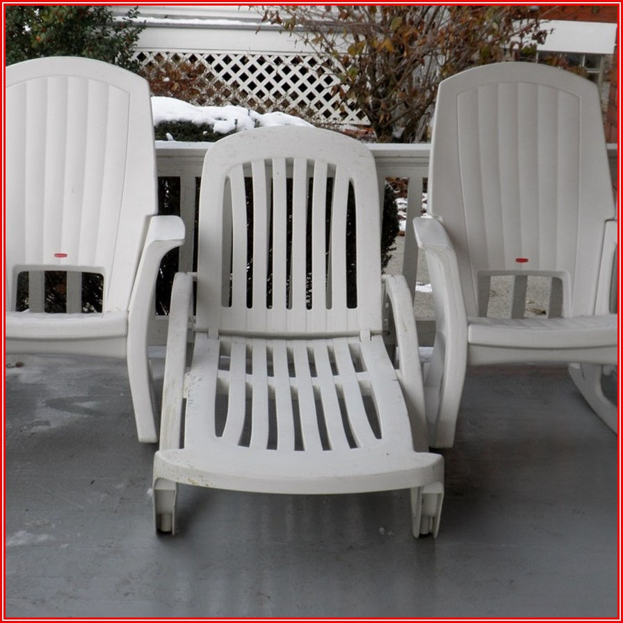 Rubbermaid Stackable Patio Chairs