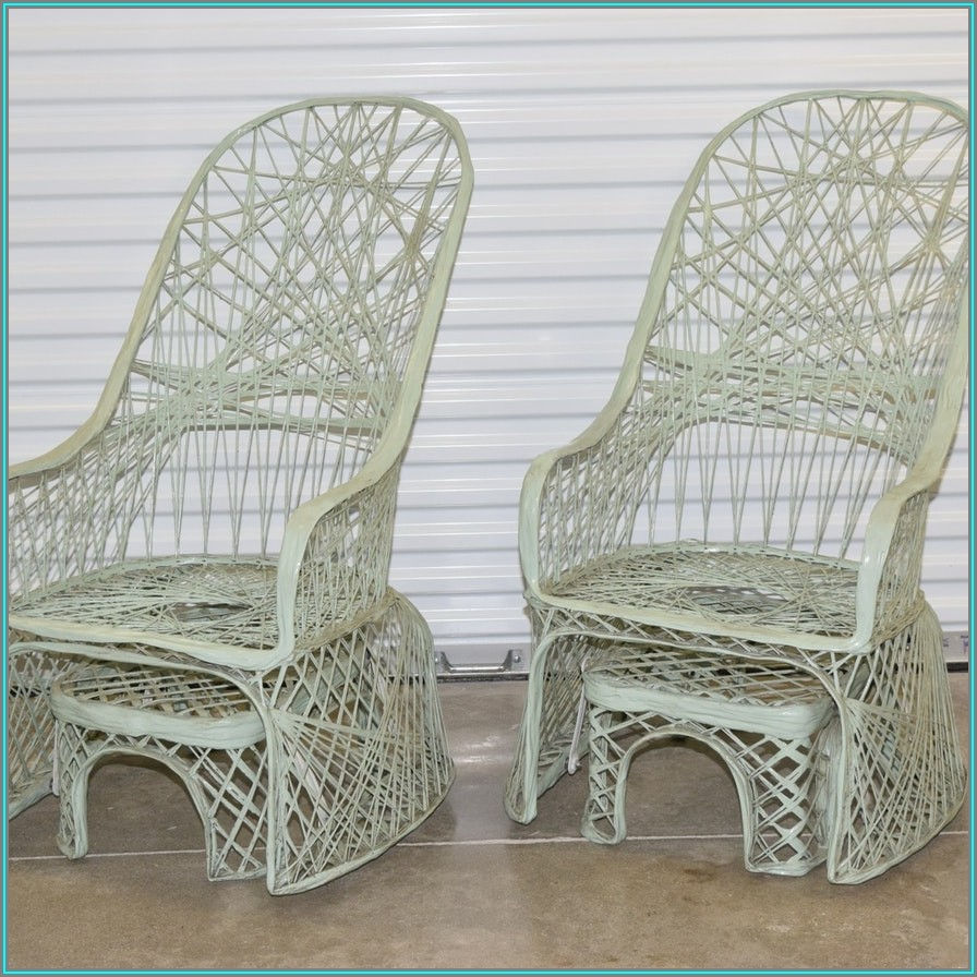 Russell Woodard Spun Fiberglass Patio Furniture