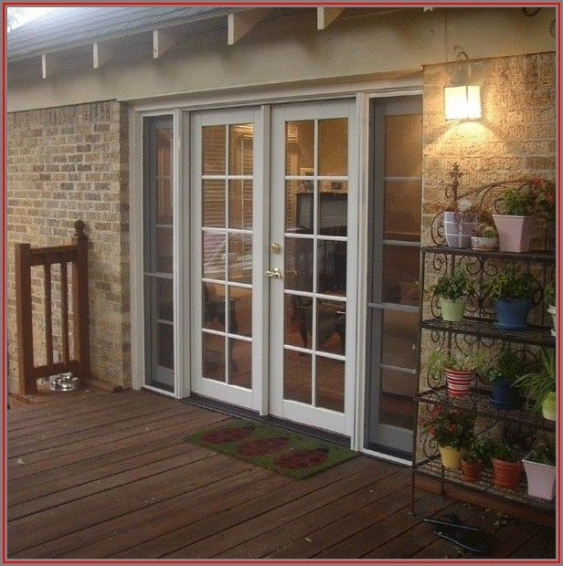 Screen Door For French Patio Doors
