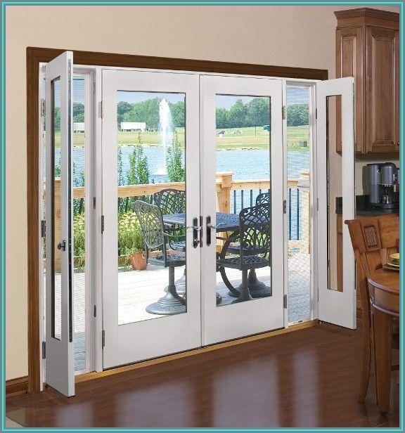 Single Patio Door With 2 Sidelights