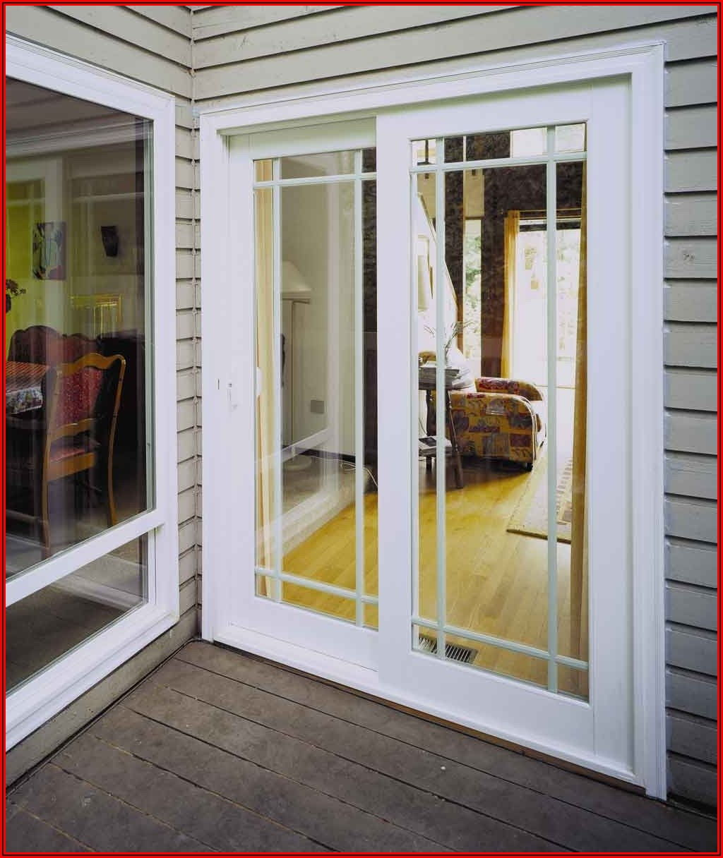 Single Sliding Glass Patio Door