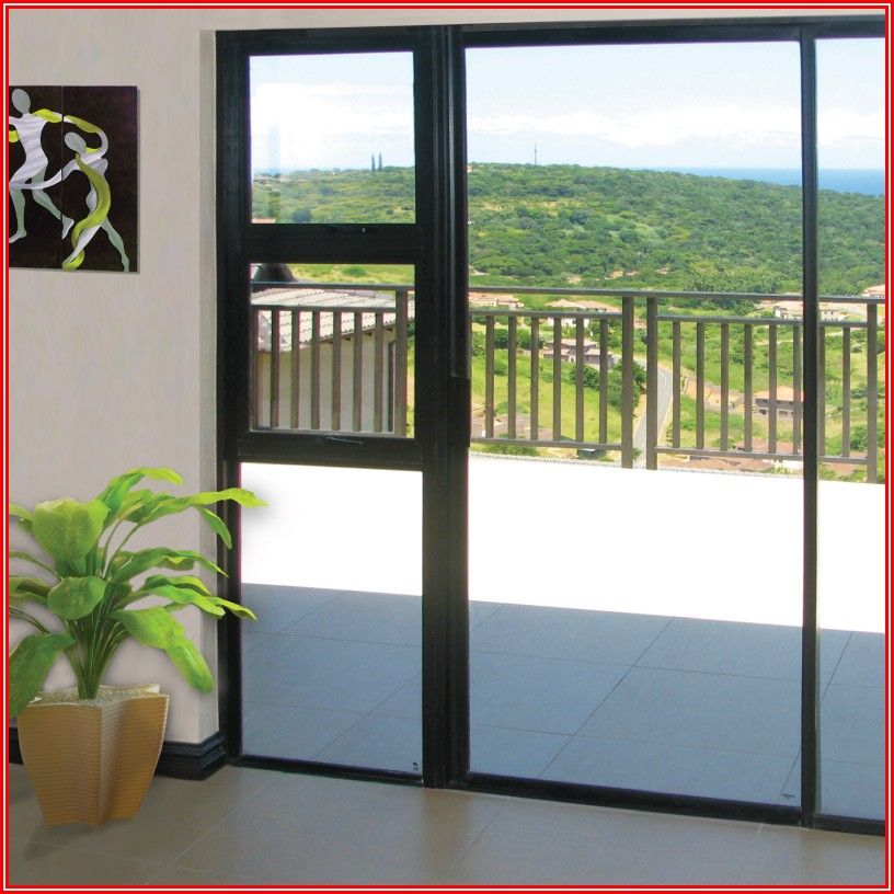 Sliding Patio Door With Sidelights