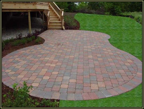 Small Brick Paver Patio Ideas