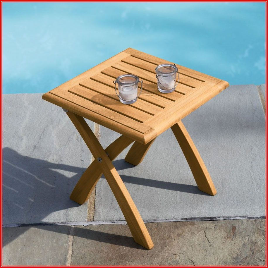 Small Foldable Patio Table