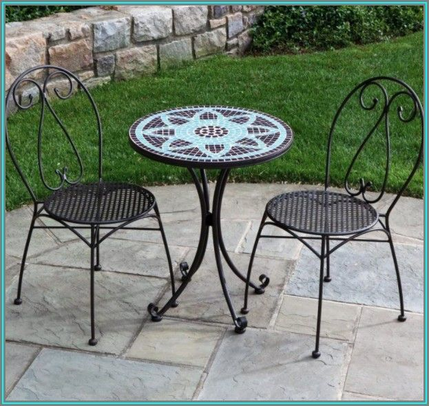 Small Iron Patio Table And Chairs