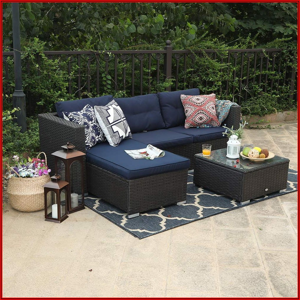Small Patio Sectional Couch