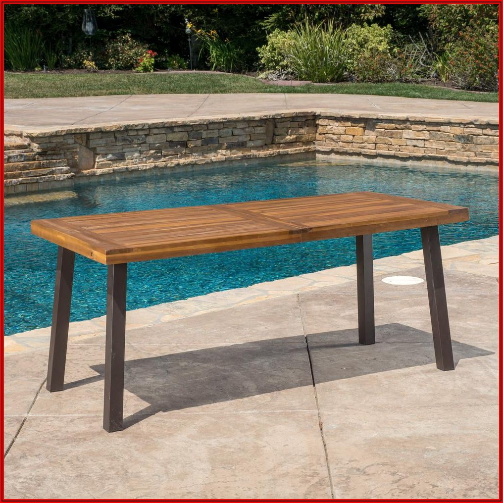 Small Rectangular Patio Dining Table