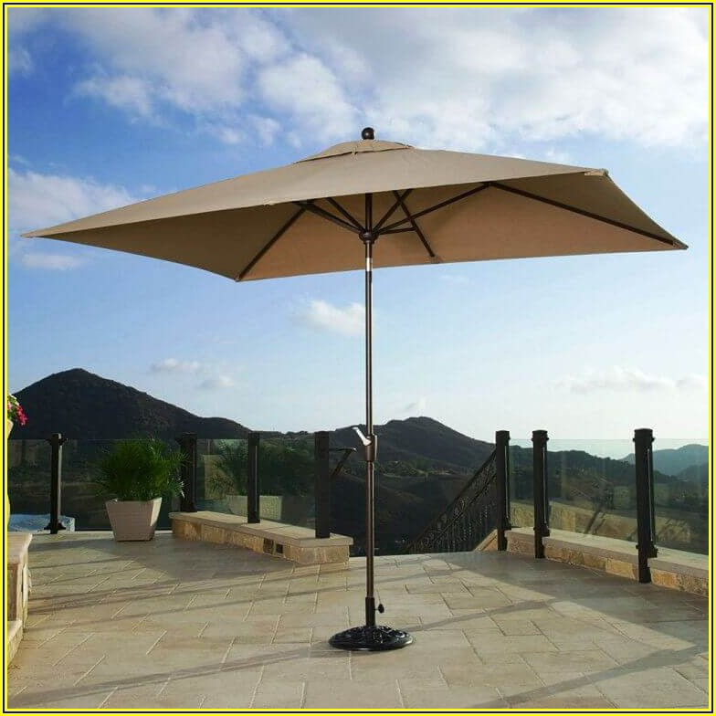 Small Rectangular Patio Umbrella