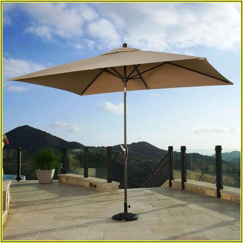 Small Rectangular Patio Umbrella