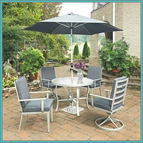 Small Round Patio Table And 2 Chairs