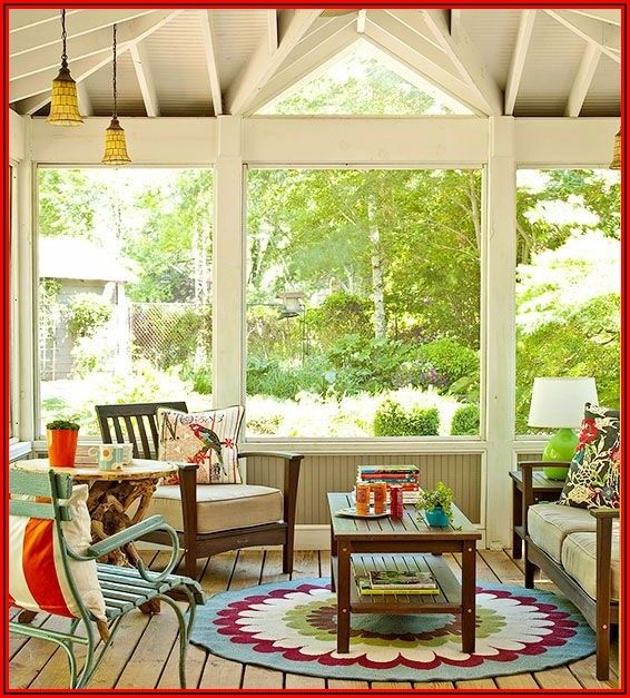 Small Screened Patio Ideas