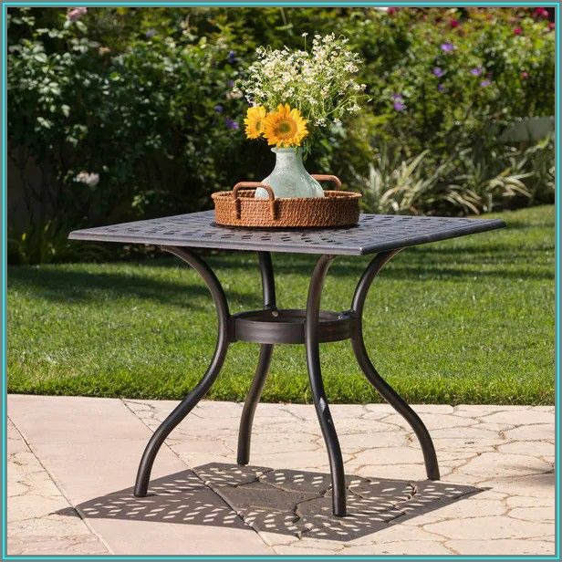 Small Square Patio Dining Table