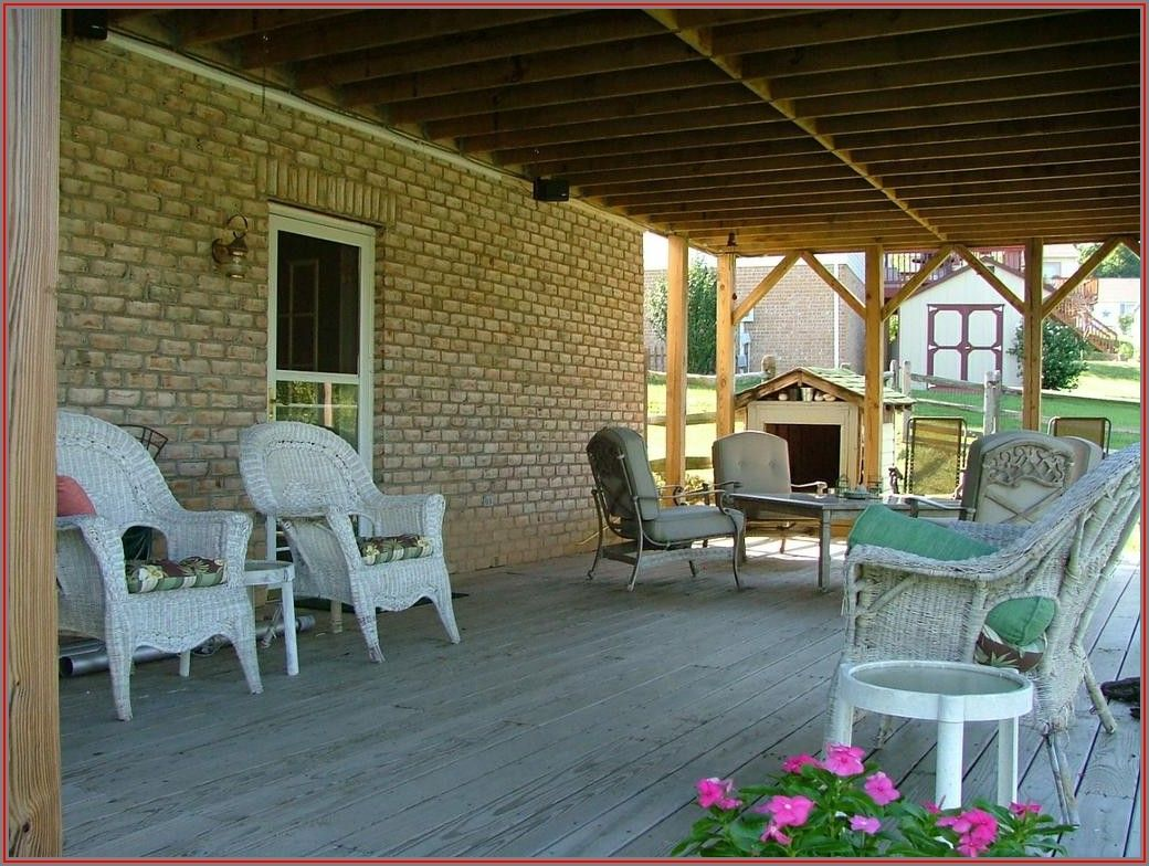 Small Under Deck Patio Ideas