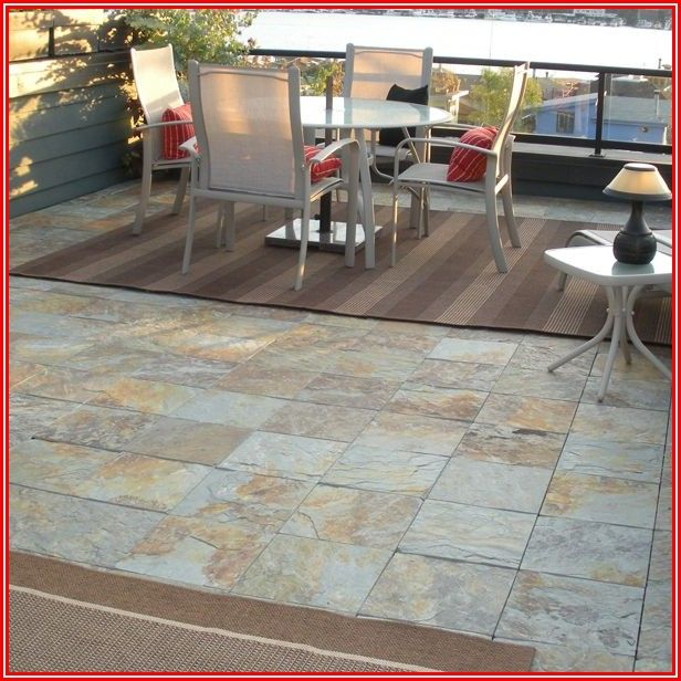 Snap Together Outdoor Patio Tiles