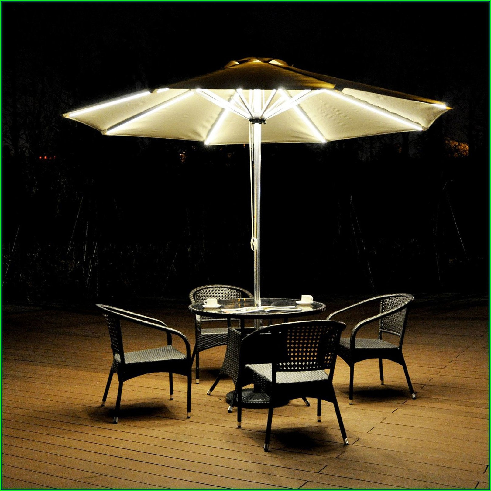 Solar Powered Patio Umbrella Fan