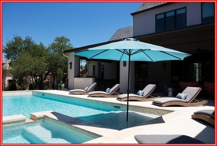 Spa Blue Patio Umbrella