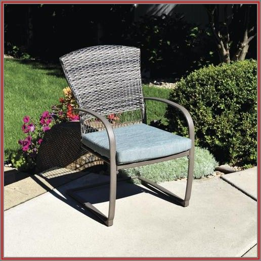 Spring Action Patio Chairs
