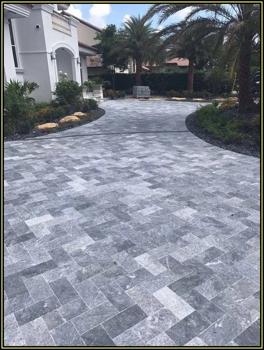 Square Gray Concrete Patio Stone 16x16