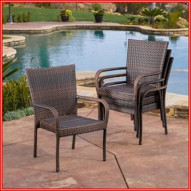 Stackable Patio Furniture Set