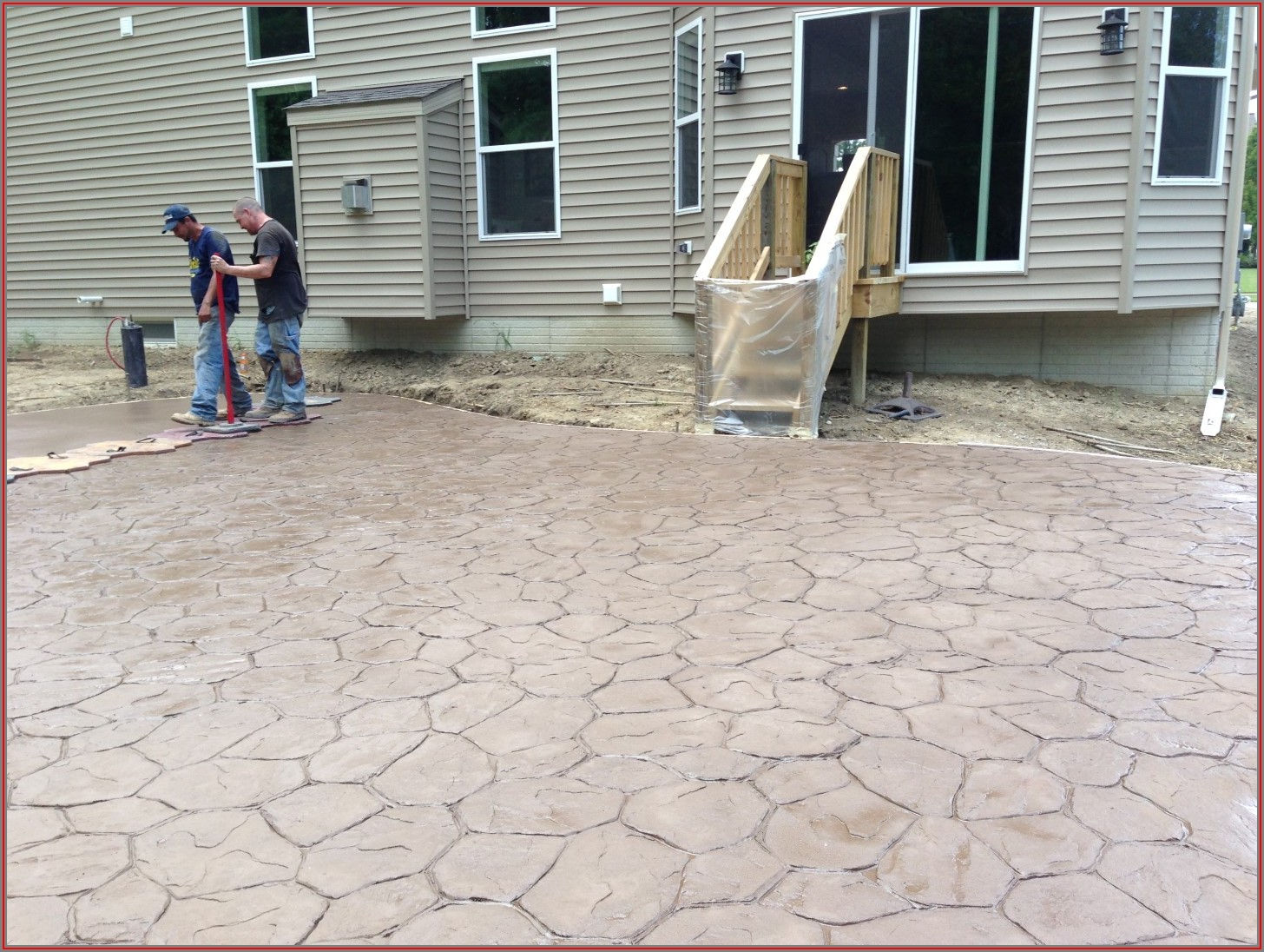 Stamped Concrete Patio Contractors In My Area