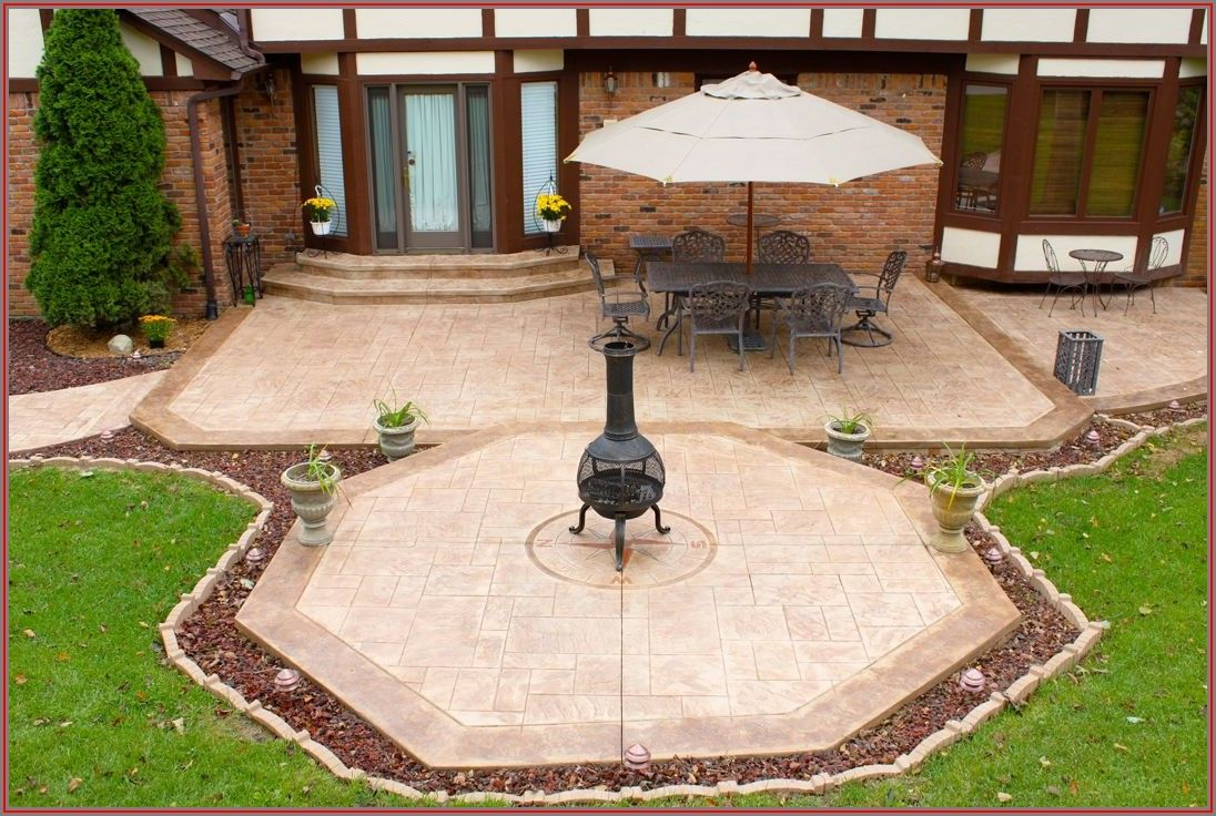 Stamped Concrete Patio Contractors Near Me