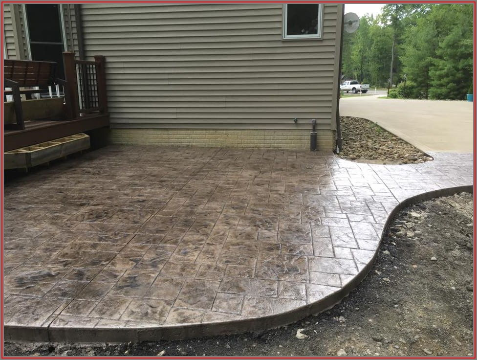 Stamped Concrete Patio Contractors