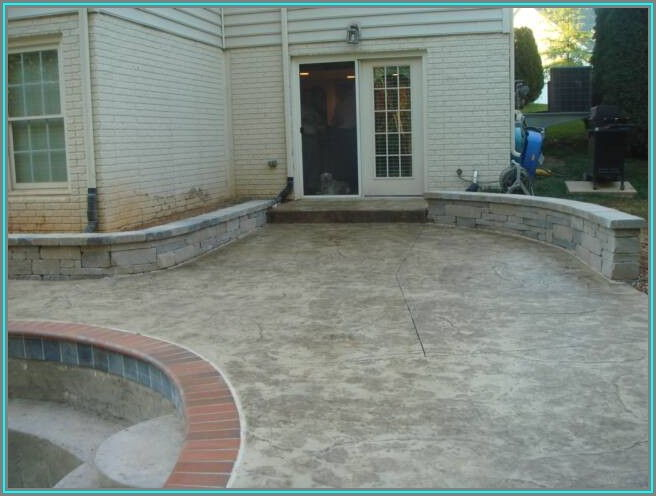 Stamped Concrete Patio Frederick Md