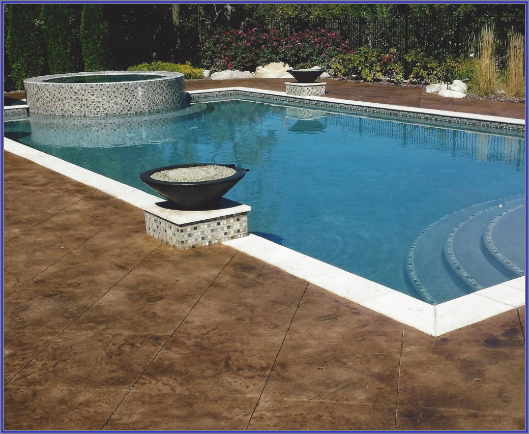 Stamped Concrete Pool Patio Pictures