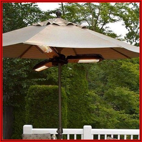 Star Patio Parasol Electric Patio Heater