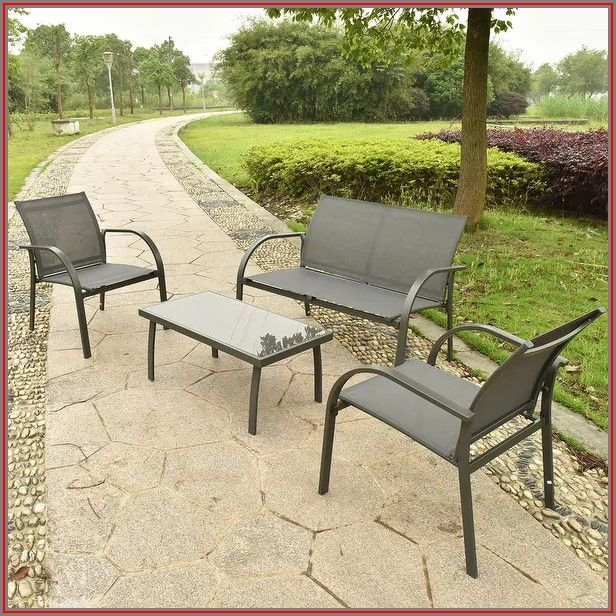 Steel Frame Patio Chairs