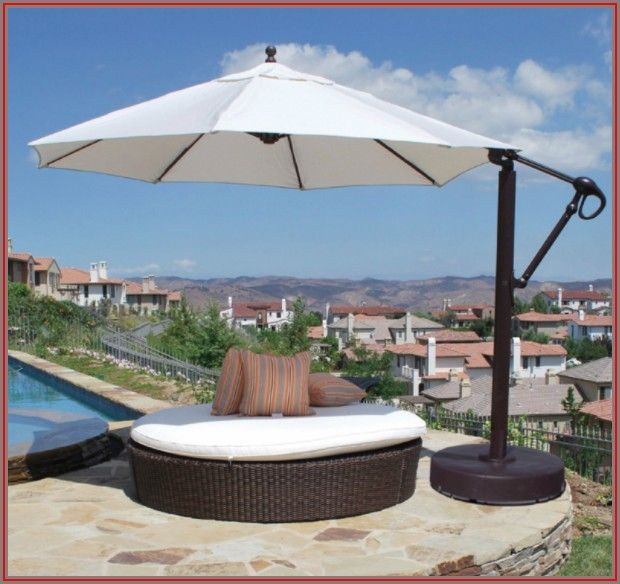 Sunbrella 11ft Cantilever Patio Umbrella