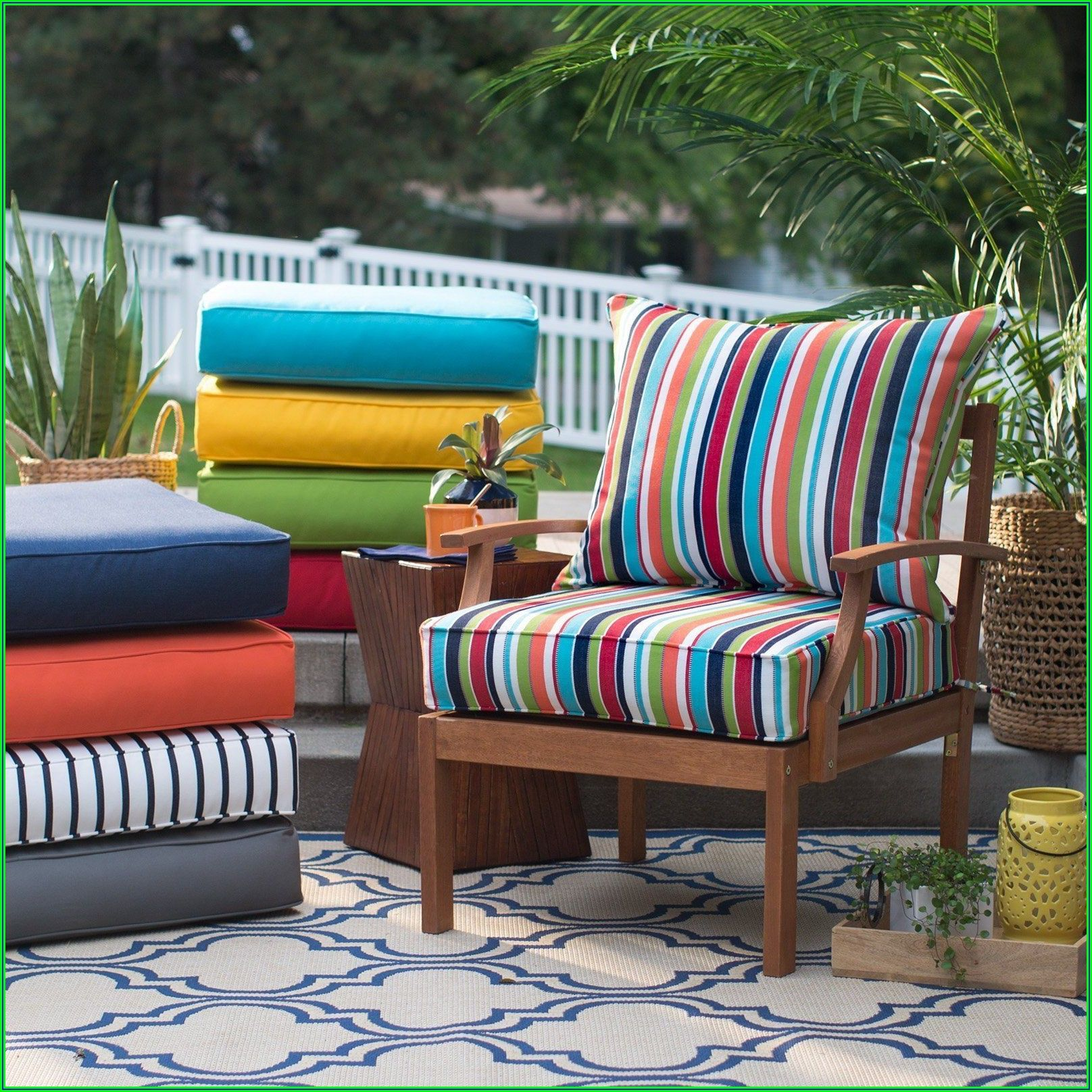 Sunbrella Deep Seating Replacement Patio Cushions