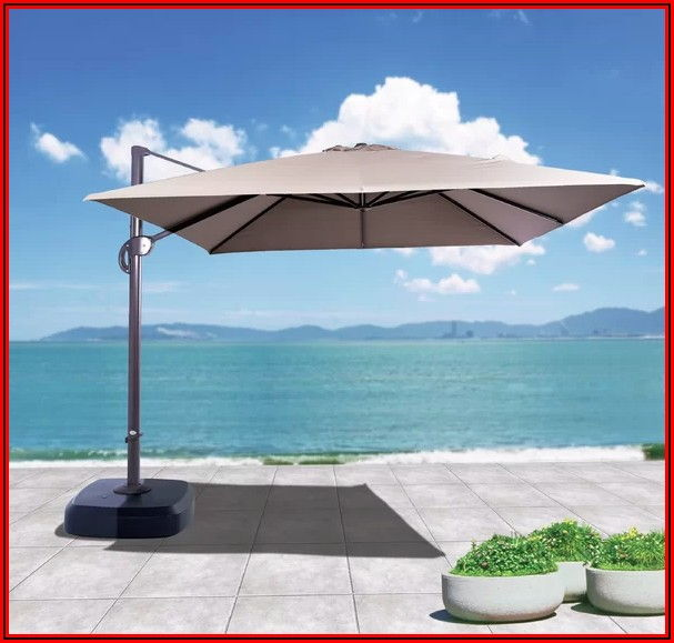 Sunbrella Offset Patio Umbrella