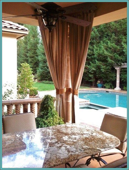 Sunbrella Outdoor Patio Drapes