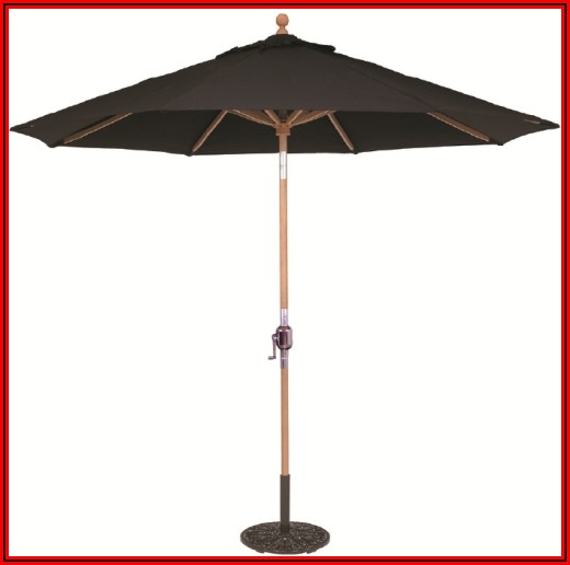 Sunbrella Teak Patio Umbrellas