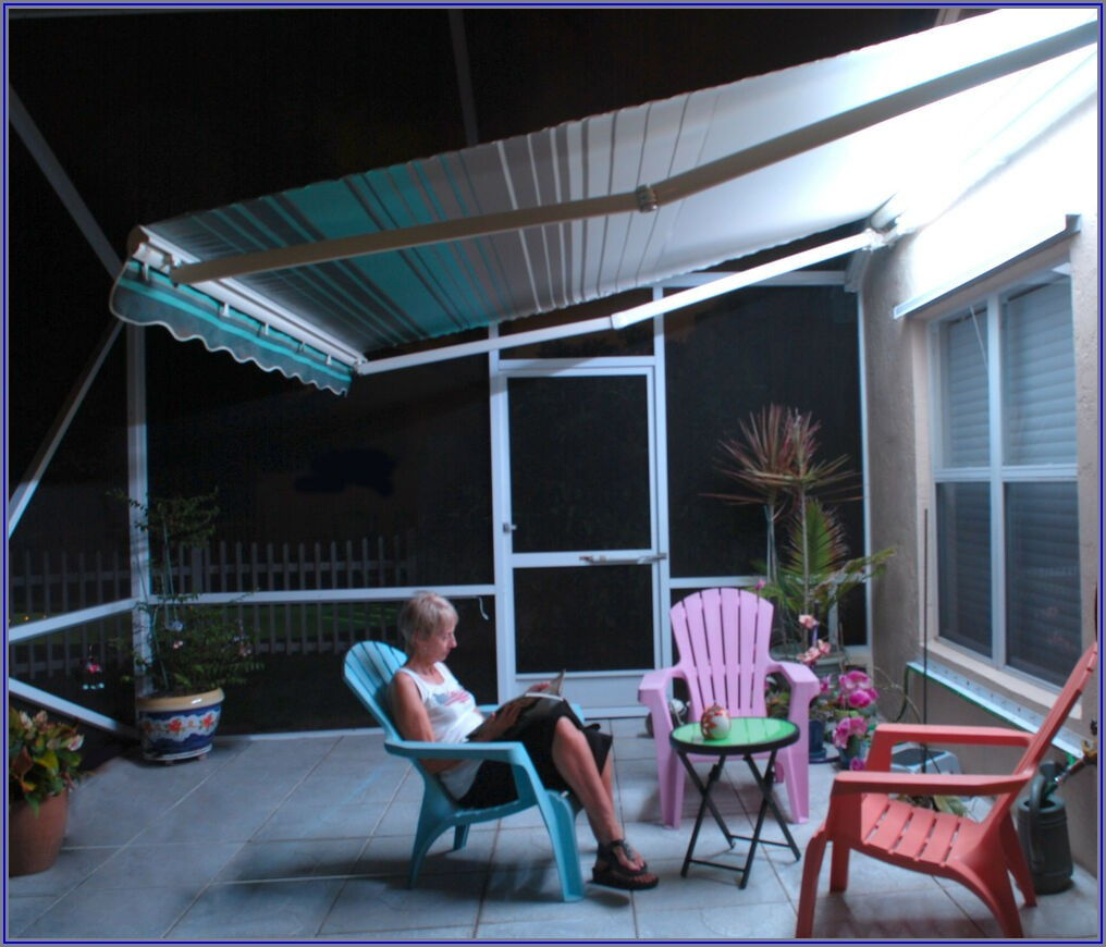 Sunsetter Patio Awning Lights