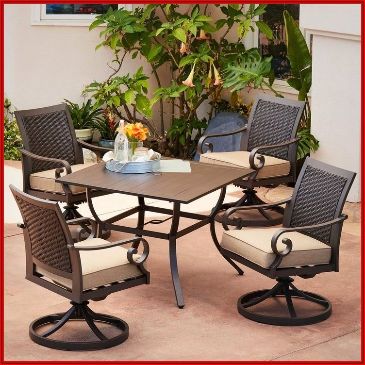 Swivel Motion Patio Chairs