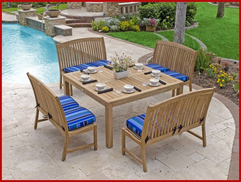 Teak Patio Furniture Plans