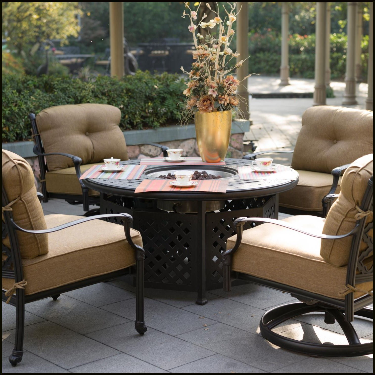 Teak Patio Furniture Sets Costco