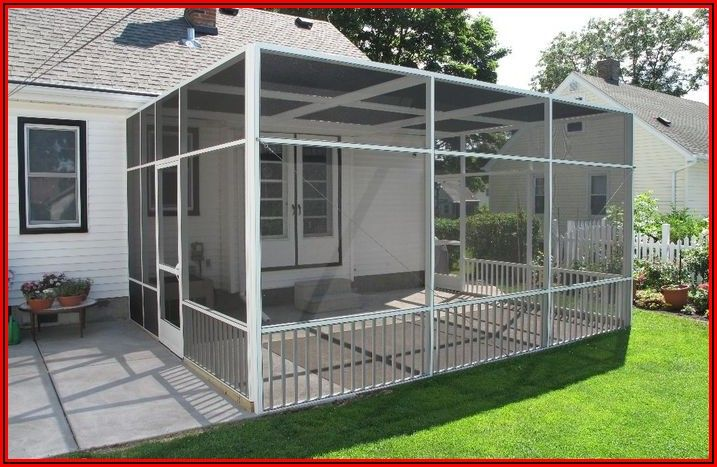 Temporary Patio Enclosure Ideas