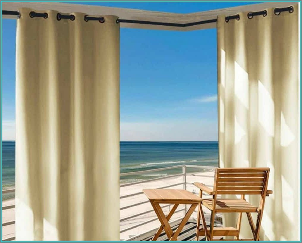 Thermal Lined Patio Curtains