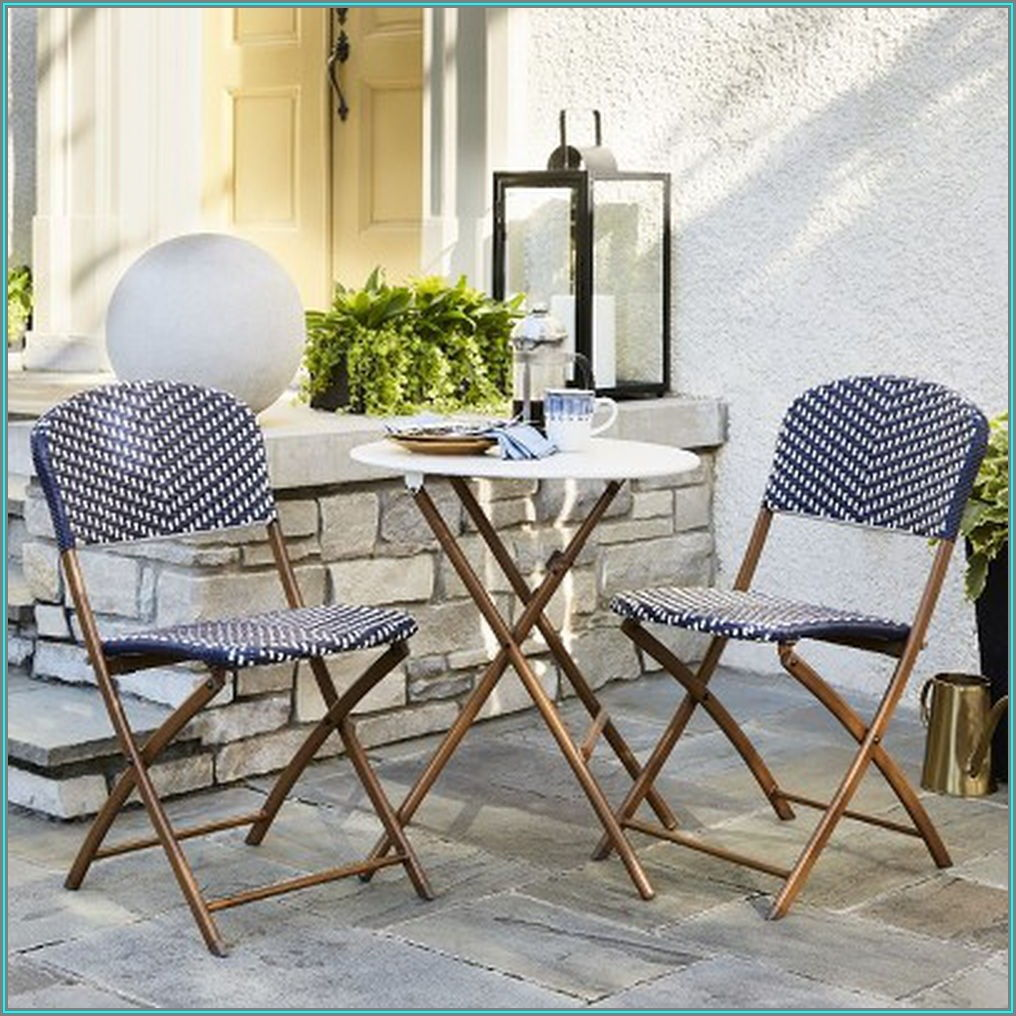 Threshold Folding Patio Dining Set