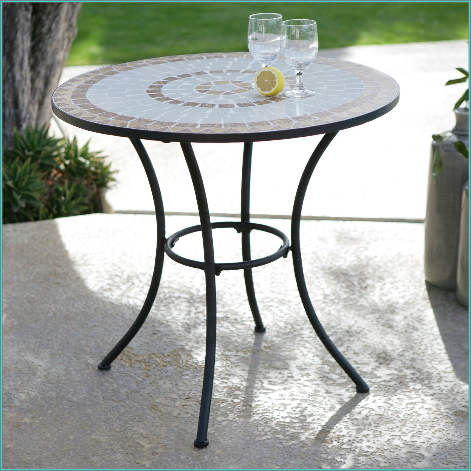 Tile Top Outdoor Patio Tables