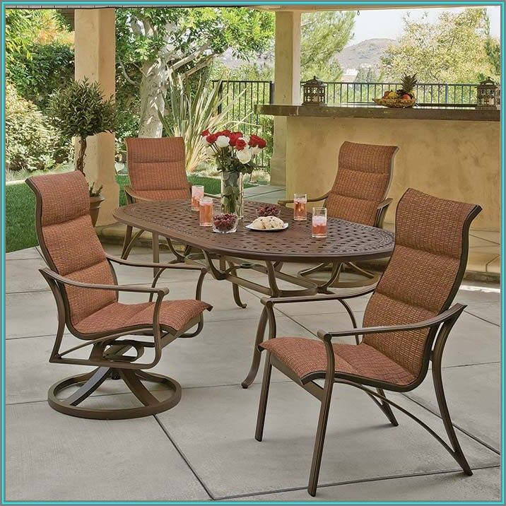 Tropitone Sling Patio Furniture