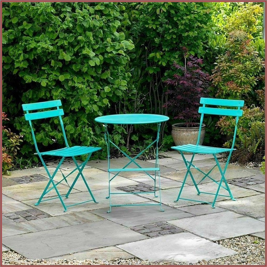 Turquoise Metal Patio Furniture