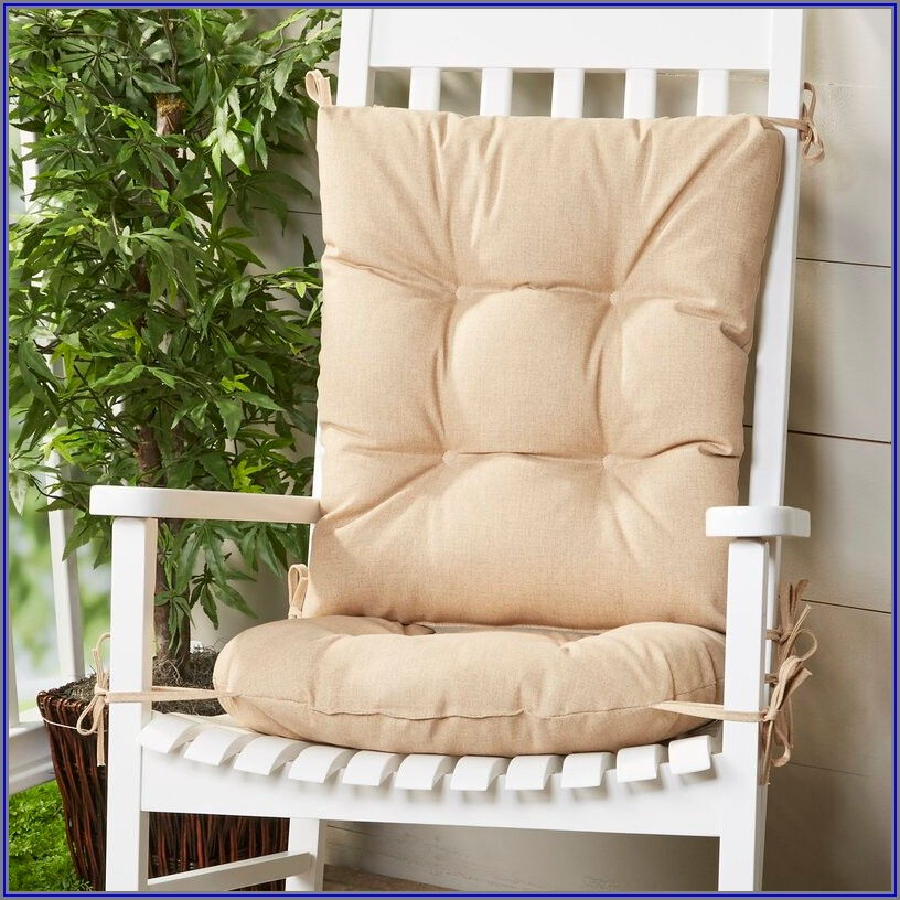 Two Piece Patio Chair Cushions