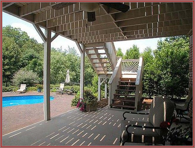 Walkout Basement Deck And Patio Ideas